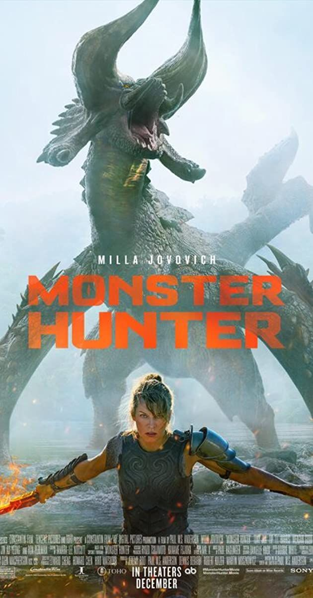 Directed By Paul W S Anderson With Milla Jovovich Tony Jaa T I Meagan Good When Lt Artemis And Her Loy In 2020 Monster Hunter Monster Hunter Movie Hunter Movie