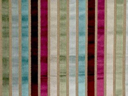 Prestigious Textiles Trapeze damson fabric