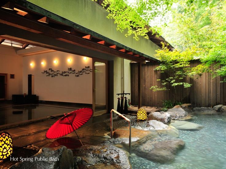 Public open-air bath