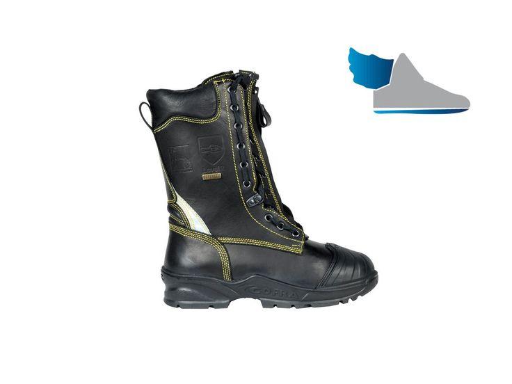 Teplé, pracovné, vysoké topánky  NO FLAME  aj do extrémne ťažkých pracovných podmienok.