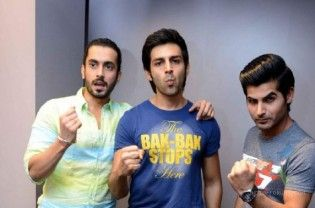 """Actors Kartik Aaryan, Omkar Kapoor and Sunny Nijar, who packed a punch in """"Pyaar Ka Punchnama 2″, have got together to introduce the characters of filmmaker Luv Ranjan's latest project, digital sitcom """"Life Sahi Hai"""" in a quirky way. The trio, in a trailer of the web series, urges viewers in a fun-filled manner to be ready to watch out...  Read More"""