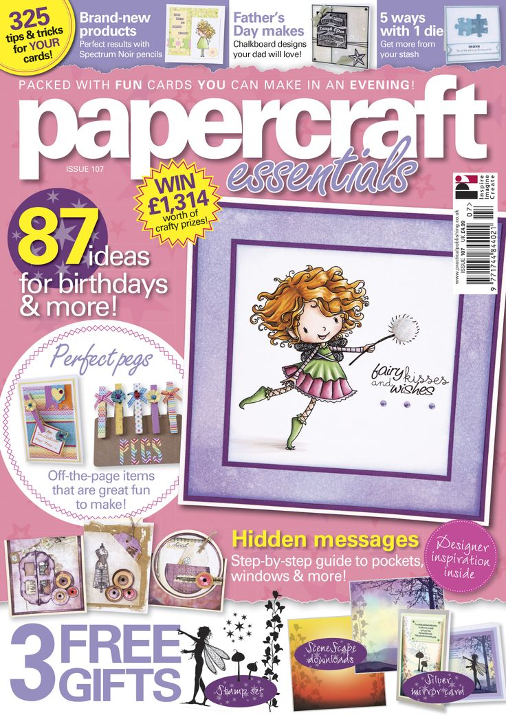 Papercraft Essentials 107 cover http://www.moremags.com/papercrafts/papercraft-essentials