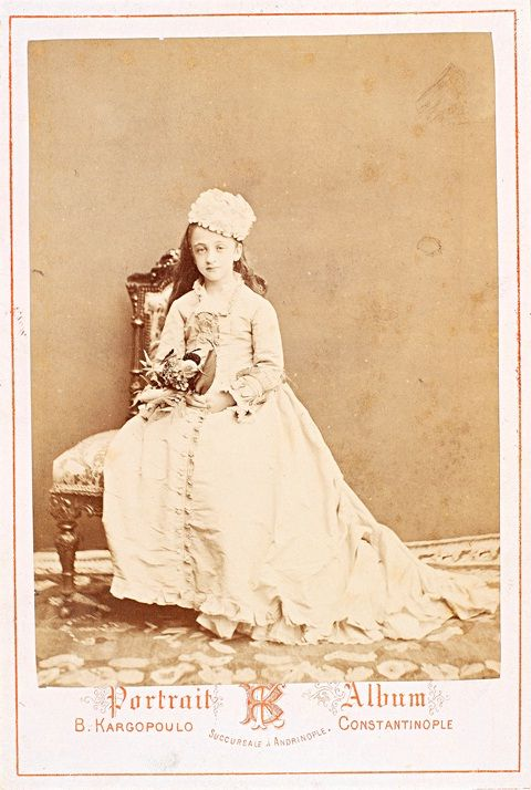Nazime Sultana (1866-1947), daughter of Ottoman Sultan Abdülaziz