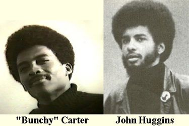 "In 1968 ""Bunchy"" Carter formed Southern California chapter of the BPP with John Huggins. and became a leader in the group. On January 17, 1969, ""Bunchy"" Carter and fellow Panther John Huggins were shot to death in UCLA's Campbell Hall by members of the rival black radical group Us. Huggins and fellow Party leader Bunchy Carter were gunned down by members of the US Organization during a 1969 meeting at UCLA.  Their deaths were actual set up by the FBI and its COINTELPRO program."