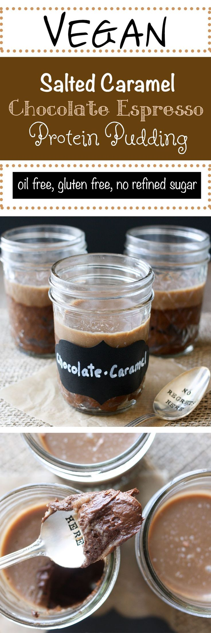 I love Caramel!!!!- posted by http://whatwomenwantboutique.com/2015/03/why-cant-i-loose-weight/ Salted Caramel Chocolate Espresso Protein Pudding