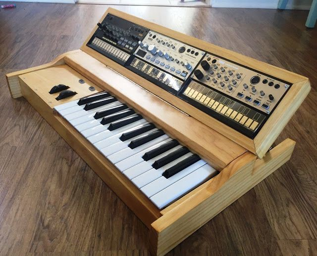 matrixsynth custom korg volca synth enclosure midi controlle synths pinterest need to. Black Bedroom Furniture Sets. Home Design Ideas