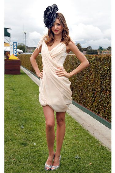 DAY AT THE RACES: 50 YEARS OF HATS & HORSES AROUND THE GLOBE - 2009: Miranda Kerr