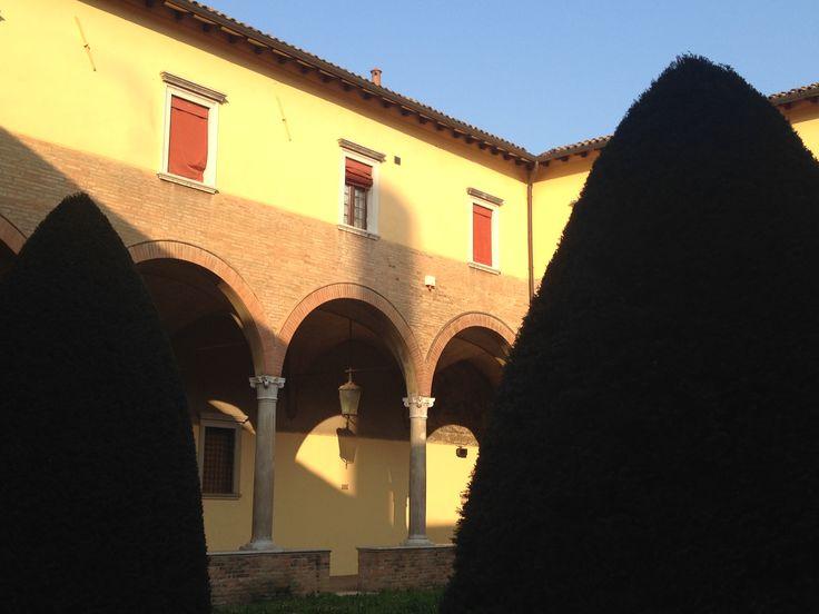 #Forlì ombre e giochi di luce