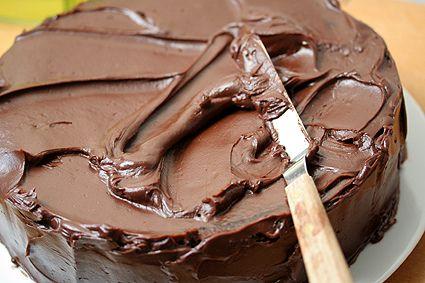 Devil's food cake by David Lebovitz, via Flickr