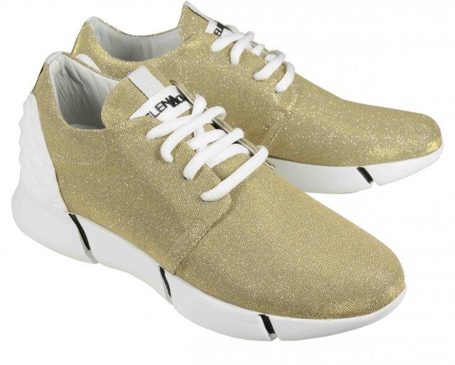 Elena Iachi  Platinum Sneakers