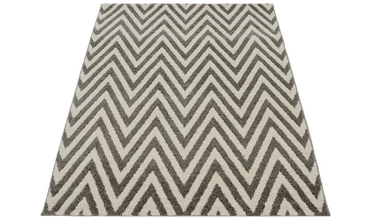 George Home Grey Chevron Rug - Various Sizes, read reviews and buy online at George at ASDA. Shop from our latest range in Home & Garden. This eye-catching c...