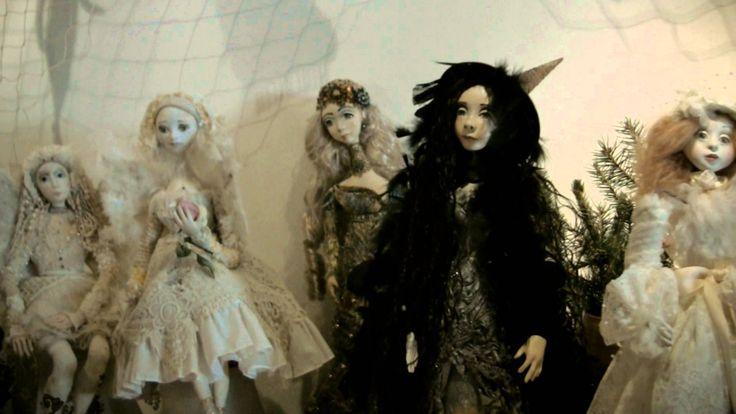 Výstava panenek v Toulcově dvoře 2015