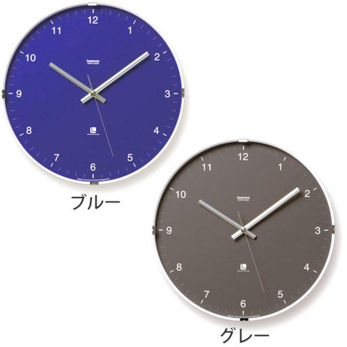ドームガラスにシンプルモダンなフォントを組み合わせた時計。【ポイント10倍】掛け時計 【 送料無料】【Lemnos レムノス】North clock ノースクロック T1-0117 掛け時計 壁掛け 壁掛け時計 掛時計 時計 森 豊史 おしゃれ かわいい 人気 デザイン インテリア モダン 北欧 スイープムーブメント 楽天 305252