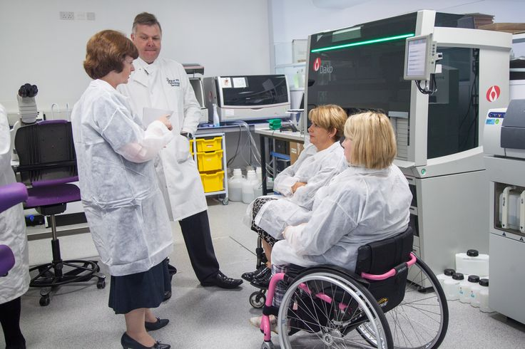 Baroness Tanni Grey Thompson officially opens the laboratory