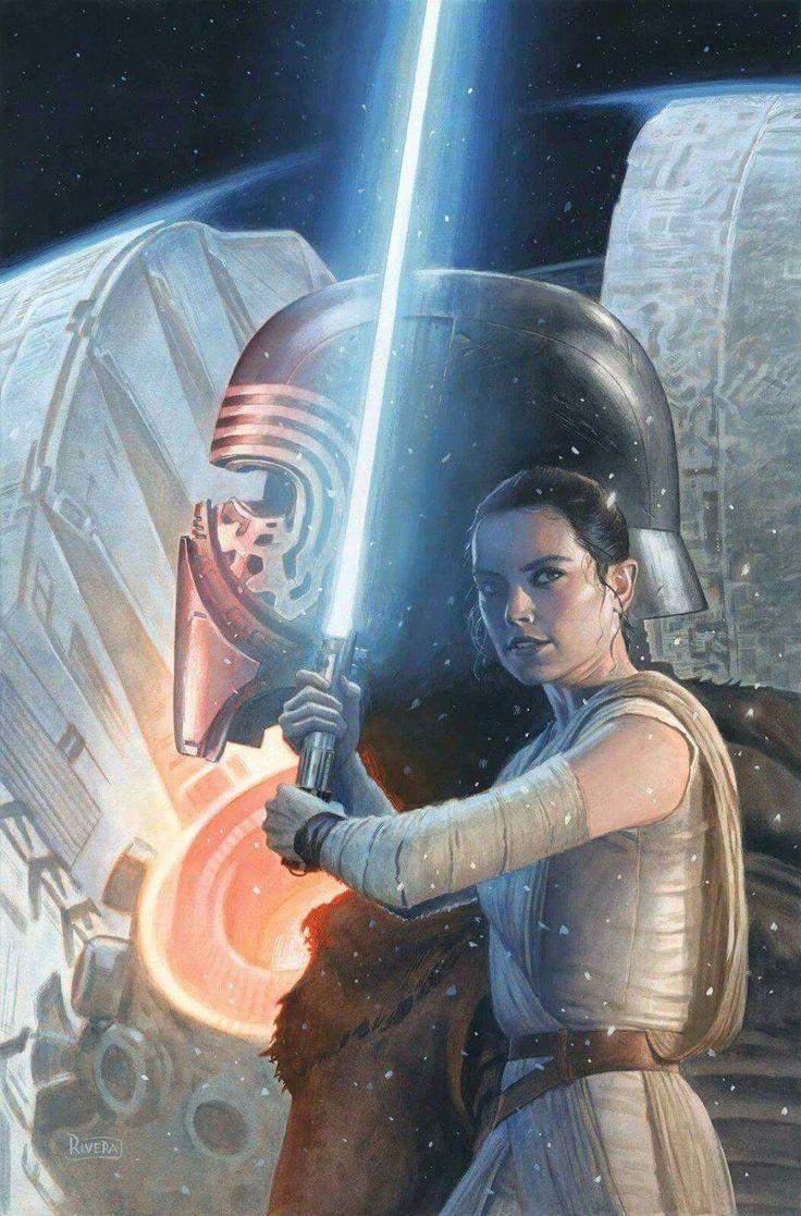 Rey Kylo Ren - Star Wars The Force Awakens