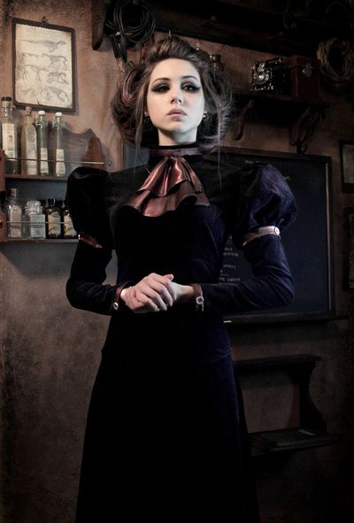 THE GOVERNESS - Steampunk Fashion Photography Art Print