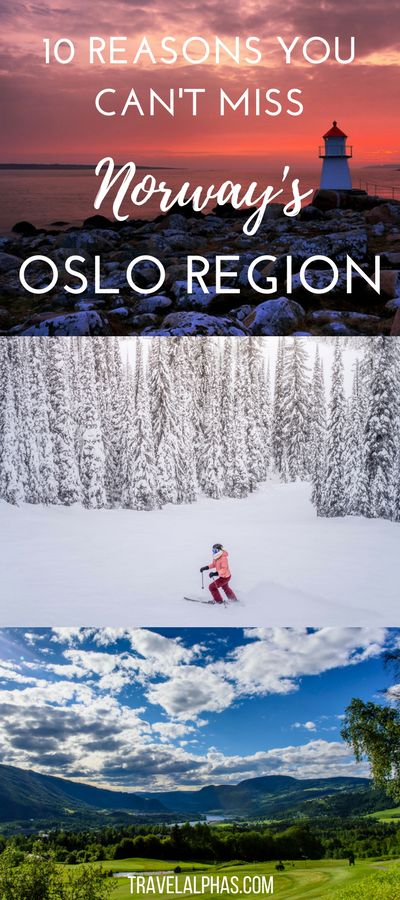 No trip to Norway is complete without spending some time in the Oslo Region! Between Norway's bustling capital city, the Oslofjord, and the countless lakes, mountains, and forests in the area, the Oslo Region is rich with beauty, things to do, and places to see. If you're looking for some Norway travel inspiration, this is the post for you! This post is sponsored by @VisitNorway.