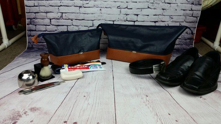 Men's Travel Set - Large & Small Retreat Bags
