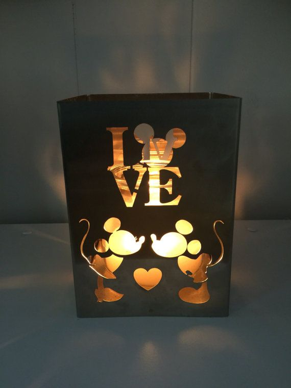 Disney inspired candle holders come in 3 by NeverlandHeadbandz