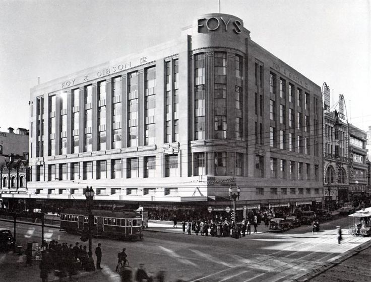 Foy & Gibson Department Store, corner Swanston and Bourke Streets