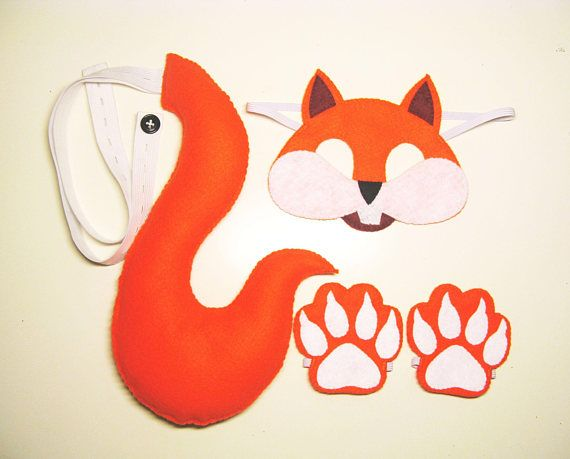 Hey, I found this really awesome Etsy listing at https://www.etsy.com/listing/568728504/squirrel-mask-tail-paws-set-orange-cuffs