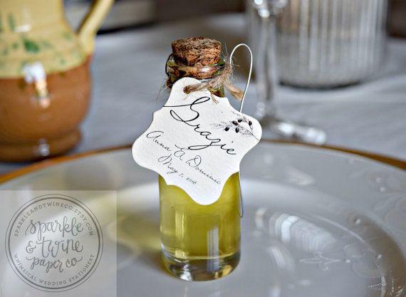 Italian Wedding Gifts: Best 25+ Wedding Favor Tags Ideas On Pinterest