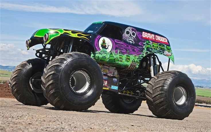 Monster Jam Truck Cake Topper