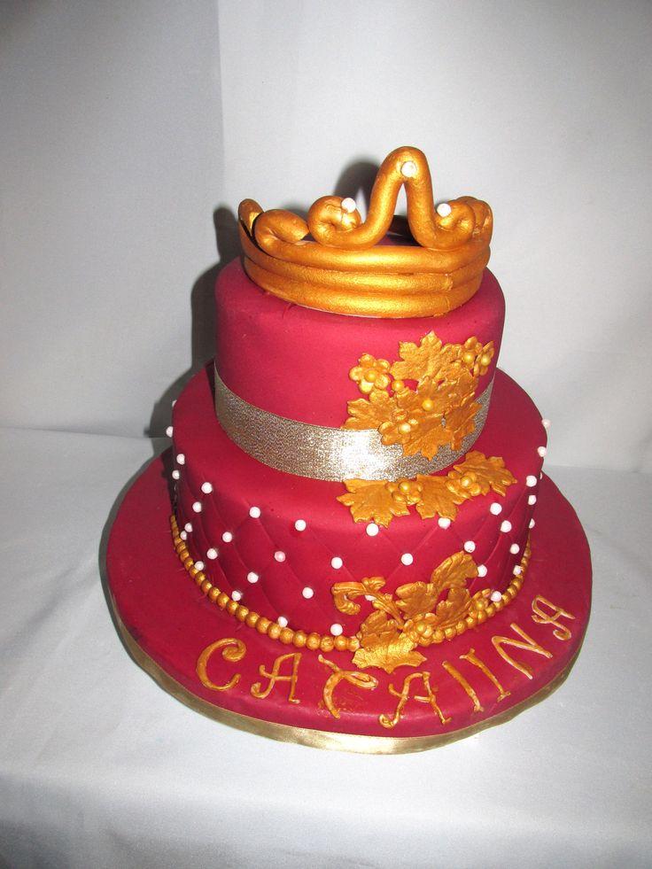 Torta Cumpleaños 16 años #TortaCumpleaños #TortasDecoradas #DulcesKaprichos