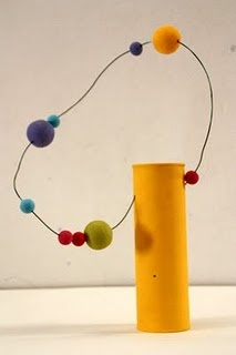 play with balls and wire