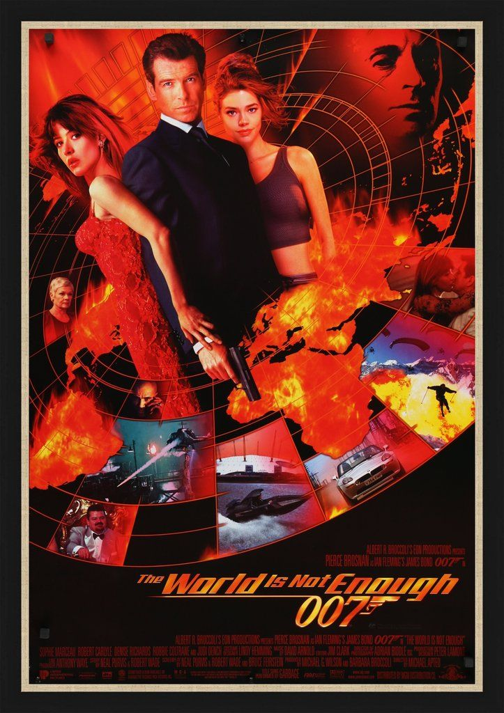 James Bond The World Is Not Enough 1999