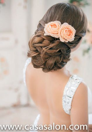 Bridal Hairstyles With Tiara | 2013 Summer and Fall Wedding Hair Collection From Casa Salon
