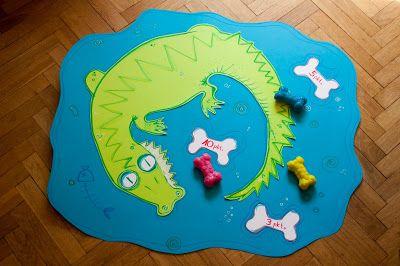 Pikczer For Ticzer Nakarm krokodyla Feed crocodille - kids play