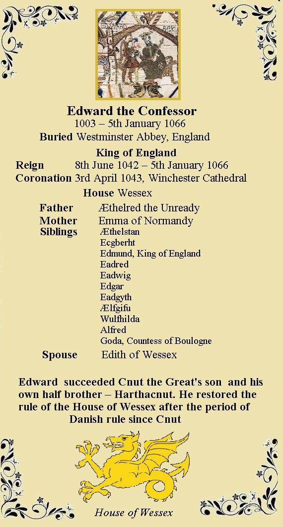 Edward The Confessor Is Crowned King Of England King