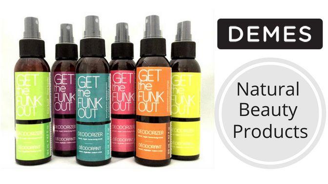 GET IT VEGAN - DEMES natural beauty products #vegan #crueltyfree