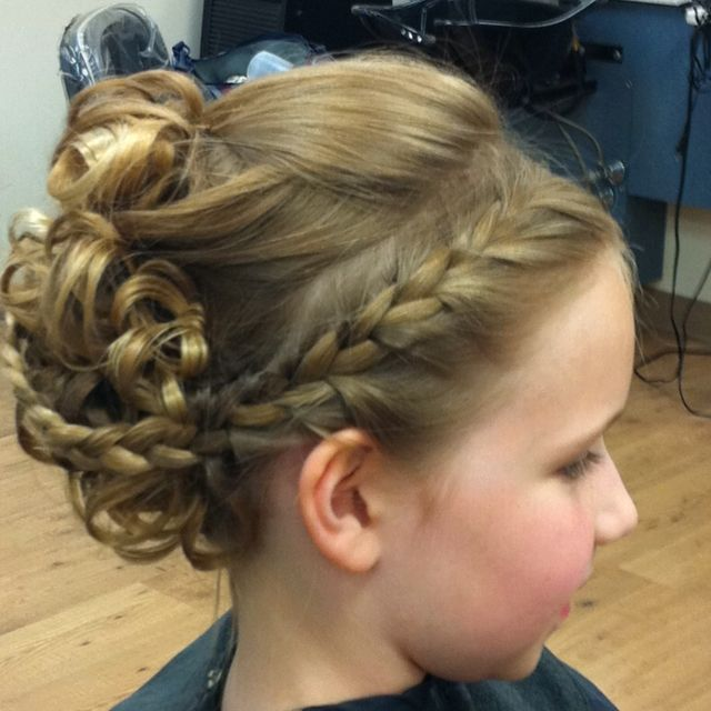Cute Style For Long Hair Special Occasions Little