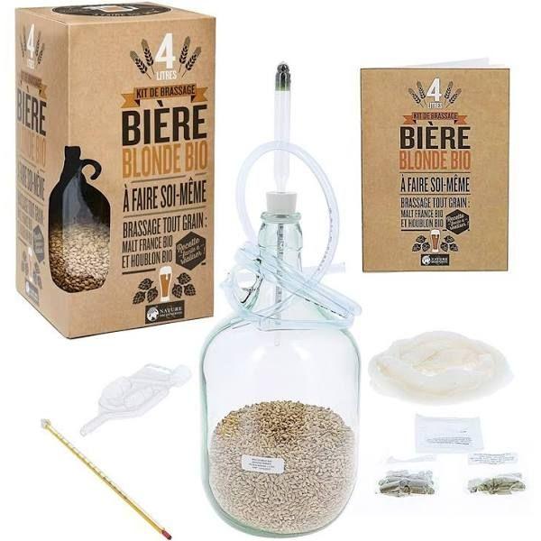 Kit de brassage : une bière bio maison !