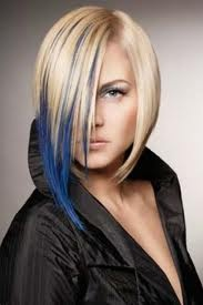 This color would be cool. Not this dramatic of a cut. Just this navy color.