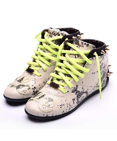 StyleBlazer Shoe Spotlight: Melody Ehsani x Reebok Spiked Python Sneakers