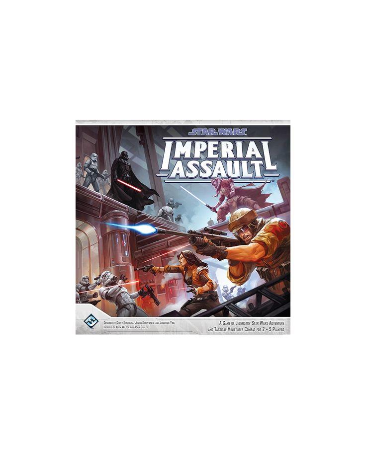 124828  14-2-F Star Wars Imperial Assault Brettspill Grunnspillet