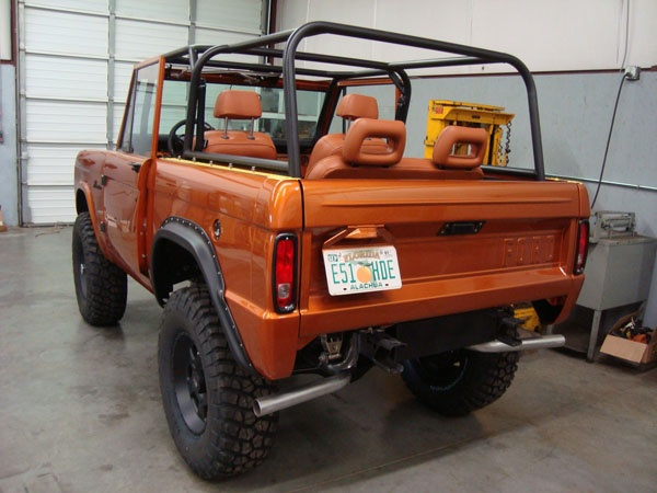 "Early Bronco Restorations - Custom Fabrication - ""HELO"" Project"
