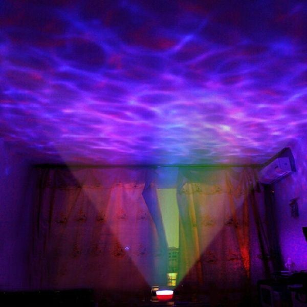 Aurora Master Led Projector With Mp3 Speaker Usb Ocean Wave Lamp