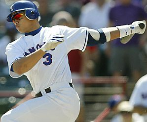 Alex Rodriquez tested positive for 2 anabolic steroids in 2003.
