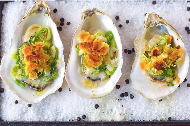 Best Oysters in NYC - Oyster lovers rejoice. It doesn't matter whether you know the difference between Blue Point and Kumamoto, it's Oyster Week in NYC, which calls for some serious shucking and slurping. Celebrate these delicious bivalves with an array of events (from wine pairings to yacht festivities) around New York City, now through September 28. Ahead, we've rounded up the 12 best spots to kick back, relax, and slurp those suckers.