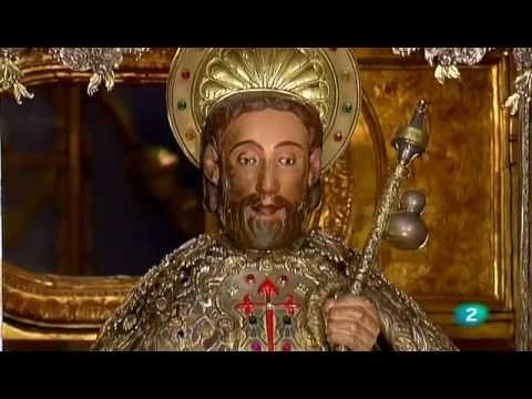 Festividad de Santiago Apóstol, patrono de España. Desde Catedral de Santiago de Compostela