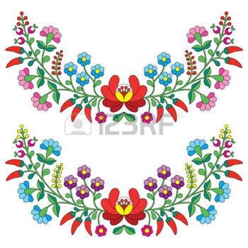Image from http://us.123rf.com/450wm/redkoala/redkoala1502/redkoala150200039/36922183-hungarian-floral-folk-pattern--kalocsai-embroidery-with-flowers-and-paprika.jpg?ver=6.