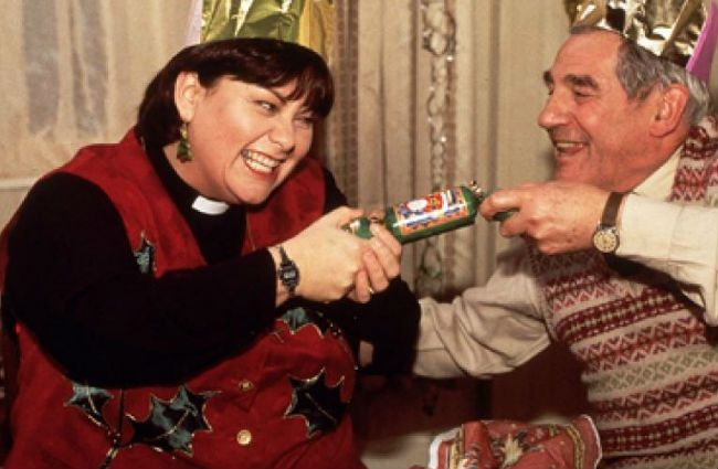 On 7th day of Christmas ... I re-watched classic Vicar of Dibley ep