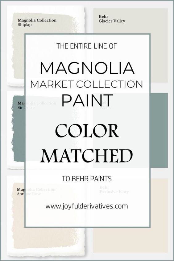 Magnolia Market Collection Paints Color Matched To Behr Fixer Upper Joanna Gaines Paint Home Depot Match Farmhouse Colors