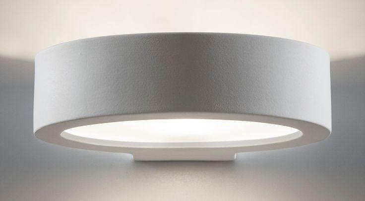 2203 LAMPADA A PARETE IN GESSOLampade a parete in ceramica/gesso