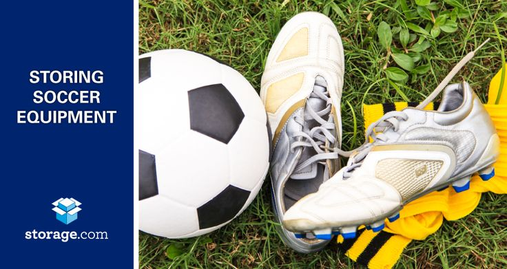 Storing Youth Soccer Equipment: Keep the team's soccer gear out of your garage and in an accessible storage unit.