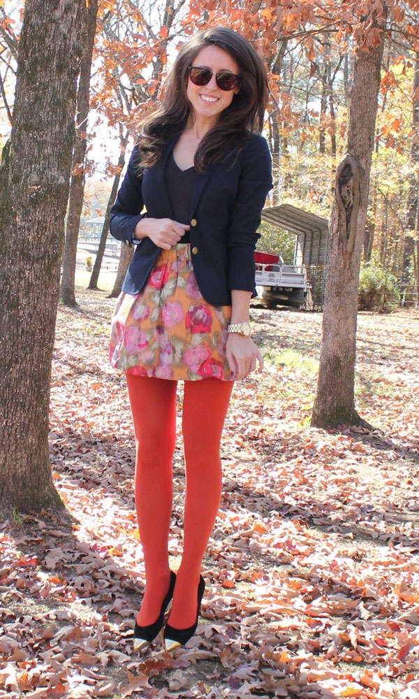 { colored tights }